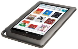 A Nook tablet isn't just for reading! You can add apps with everything from Angry Birds to Netflix! (Image Credit: http://www.intomobile.com/2011/12/12/nook-tablet-shipments-reach-million-units/)