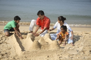 Building a successful sand castle requires quite a bit of skill! (Image Credit:http://www.superstock.com/stock-photos-images/1886R-25213)