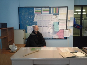 Me at my old desk and area in the office. I still remember the days when you could smoke in here and it was just a blue haze...glad thos days are gone!