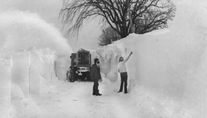 Blizzard of 77; Buffalo, NY
