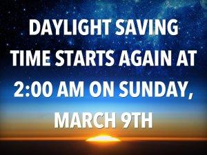 Image Source:  http://finance.yahoo.com/news/daylight-saving-time-coming-weekend-175855583.html;_ylt=A0LEV13DjRhToGwAW9pXNyoA;_ylu=X3oDMTB0c2djYnY4BHNlYwNzYwRjb2xvA2JmMQR2dGlkA1ZJUDM2MV8x