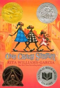 Image Source:  http://www.barnesandnoble.com/w/one-crazy-summer-rita-williams-garcia/1100247530?ean=9780060760908